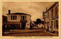 La Tranche-sur -MEr - Une rue pittoresque du bourg - La Tranche-sur-Mer