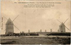 Les Herbiers - Les Moulins sur le Mont des Alouettes - Les Herbiers