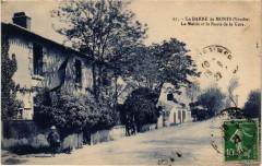 La Barre-de-Monts La Mairie et la Route de la Gare - La Barre-de-Monts