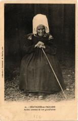 Chavagnes-en-Paillers Ancien costume de nos grand'meres - Chavagnes-en-Paillers