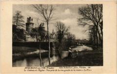 Apremont-sur-Vie Le Chateau et l'Eglise Vue prise de la rive - Apremont