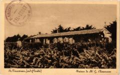 Saint-Vincent-sur-Jard Maison de Mr G. Clemenceau - Saint-Vincent-sur-Jard