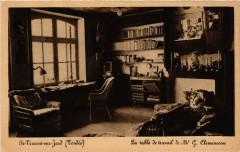 Saint-Vincent-sur-Jard La table de travail de Mr G. Clemenceau - Saint-Vincent-sur-Jard
