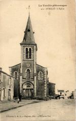 La Vendée Pitt. - Avrille - L'Eglise - Avrillé