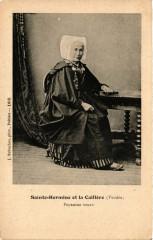 Sainte-Hermine et la Caillere - Paysanne veuve - Sainte-Hermine