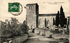 Vendée - Breuil-Barret - La Vieille Eglise - Breuil-Barret