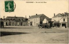 Connerre - Un coin de la Place - Connerré