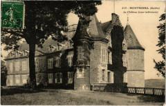 Montmirail - Le Chateau (cour intérieure) - Montmirail
