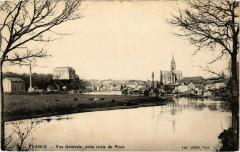 Sablé - Vue générale, prise route de Pince - Pincé