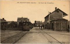 Bonnetable Gare du Tramway Tram Vapeur - Bonnétable