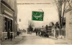 Sceaux-sur-Huisne - Centre de la rue Principale - Sceaux-sur-Huisne