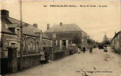 Neuvillalais - Route de Conlie - La poste - Neuvillalais