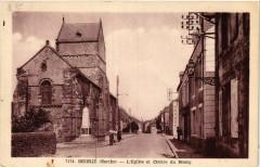 Segrie - L'Eglise et Centre du Bourg - Ségrie