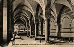 Abbaye des Bénédictins de Solesmes - Le Refectoire, côté de la Fresque - Solesmes