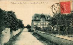 Vallon-sur-Gee - Avenue de la Gare - La Gaucherie - Vallon-sur-Gée