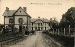 Coudrecieux - Boulevard de la Mairie - Coudrecieux