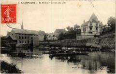 Champagne - Le Moulin et la Villa des Lilas - Champagné