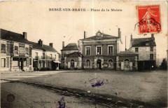 Besse-sur-Braye - Place de la Mairie - Bessé-sur-Braye