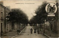 Brulon - Boulevard de la Gare - Brûlon