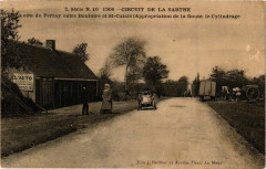 Cirquit de la Sarthe- La cote du Perray entre Bouloire et Saint-Calais - Bouloire