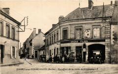 Dissay-sous-Courcillon - Carrefour de la route de Villebourg - Dissay-sous-Courcillon