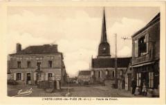 L'Hotellerie-de-Flée (M.-et-L.) - Route de Craon - Flée