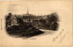 Marcon - Vue générale - Marçon