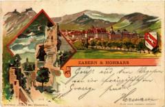 Zabern & Hohbarr - Vue - Barr