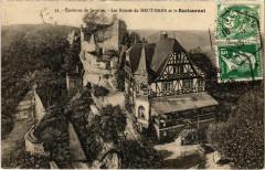 Env. de Saverne - Les Ruines du haut-Barr et le Restaurant - Saverne