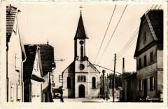 Ostwald - Rue du General-Leclerc Eglise Gothique - Ostwald