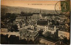 Wissembourg - La quartier Saint-Jean - Wissembourg