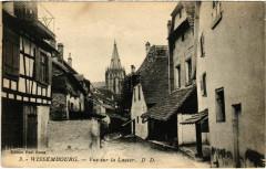 Wissembourg - Vue sur la Lauter - Wissembourg