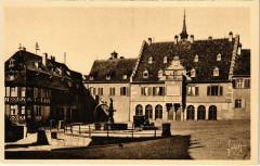 Barr - Place de l'hotel de Ville - Barr