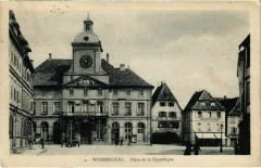 Wissembourg - Place de la Republique - Wissembourg