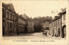 La Petite-Pierre - Tribunal de Bailliage et la Mairie - La Petite-Pierre