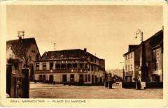 Marmoutier - Place du Marché - Marmoutier