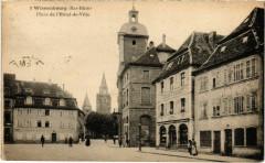 Wissembourg - Place de l'Hotel de Ville - Wissembourg