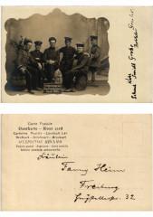Carte photo Erinnerung an des Griesheimer Sand 1905 . Alsace - Sand