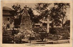 Triembach-au-Val - Triembach - Kriegergrab - Triembach-au-Val