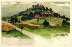 Lichtenberg - Vue - Litho - Lichtenberg