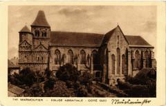 Marmoutier Eglise Abbatiale Cote Sud - Marmoutier