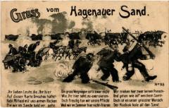 Gruss vom HAGENAUer Sand - Sand