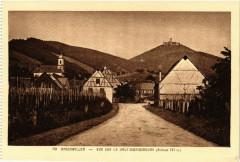 Orschwiller Vue sur le Haut-Koenigsbourg - Orschwiller