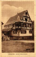 Oberbronn - Maison Renaissance - Oberbronn