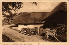Solbach - Ferme a toit de chaume - Solbach