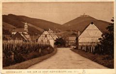 Orschwiller - Vue sur le Haut-Koenigsbourg - Orschwiller