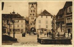 Ribeauville La Place du Marché - Ribeauvillé