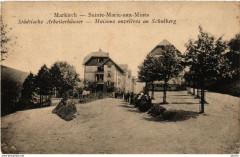 Markirch - Sainte-Marie-aux-Mines - Maisons Ouvrieres au Schulberg - Sainte-Marie-aux-Mines