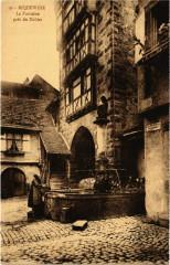 Riquewihr La Fontaine prés du Dolder - Riquewihr