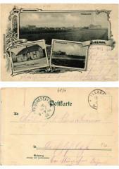 Litho Illzach 1900 . Alsace - Illzach